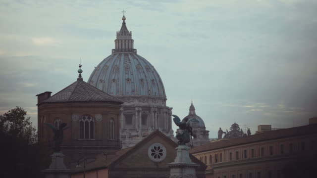 Typical cityscape of Rome video