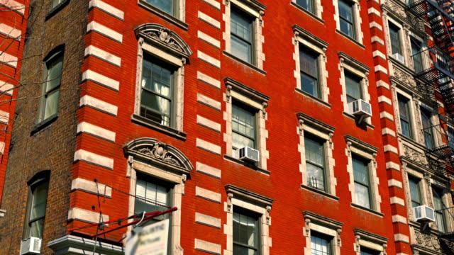 Typisches New Yorker Wohngebäude – Video