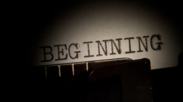 Typing. BEGINNING. THE END. MORE. Typewriting. video