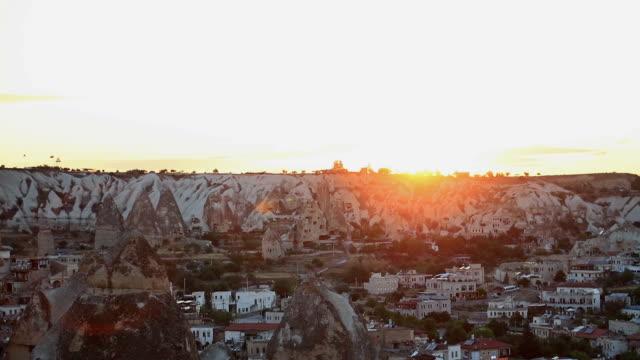 uchisar castle och unika geologiska formationer i kappadokien - anatolien bildbanksvideor och videomaterial från bakom kulisserna
