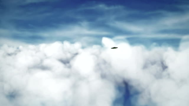 UFOs in the sky video
