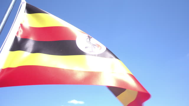 Uganda Flag video