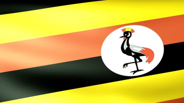 Uganda Flag Waving video
