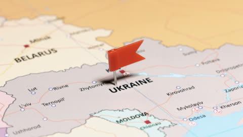 vídeos y material grabado en eventos de stock de ucrania con la bandera nacional - ucrania