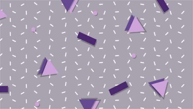 Ultra Violet 1990s Style Animated Background video