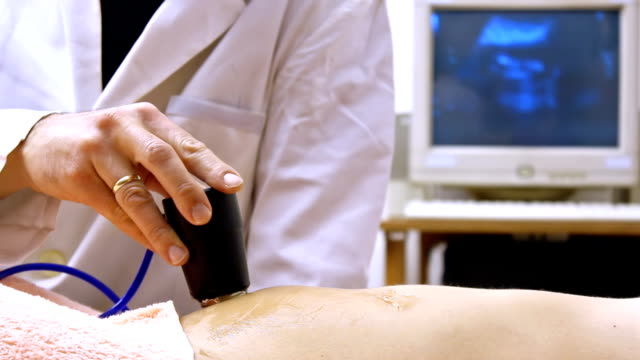 Ultrasound examination video