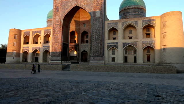 Ulugbek madrasah madrasah in Bukhara, makes a uniform complex with madrasah of Abdulazis-hana video