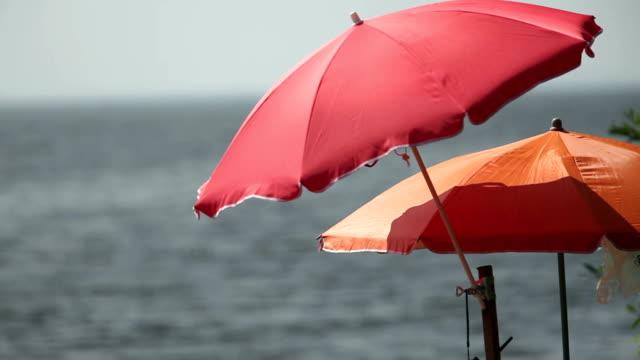 umbrella and motorboat video