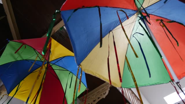 Umbrella Frevo in Olinda, Brazil video