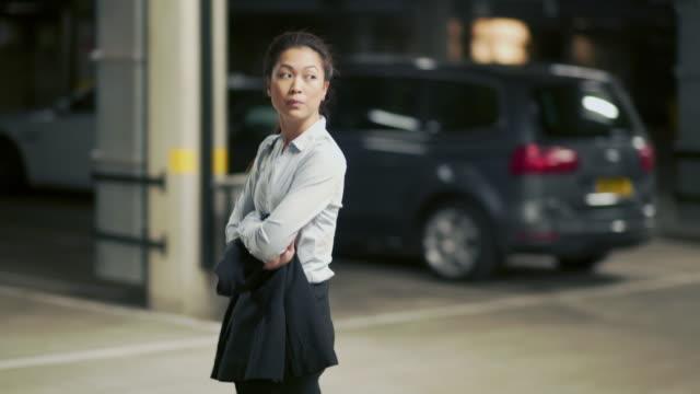 Underground aware woman