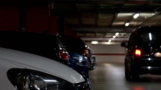 Tiefgarage, Garage. flachen DOF – Video