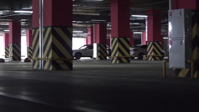 Underground Parking Lot Interior video