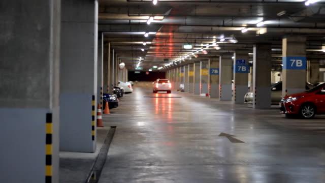 stockvideo's en b-roll-footage met ondergrondse parking - parking