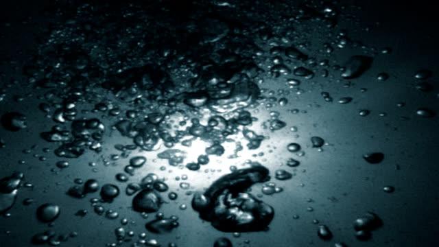 underwater bubbles video