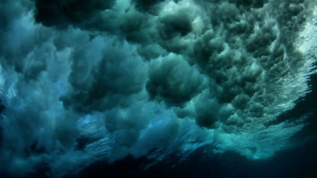 Underwater Ocean Wave video