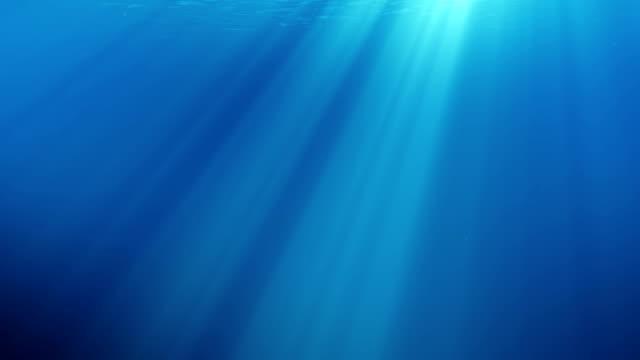 vídeos y material grabado en eventos de stock de escena bajo el agua con burbujas flotando y el sol brillando a través del agua. - bajo posición descriptiva