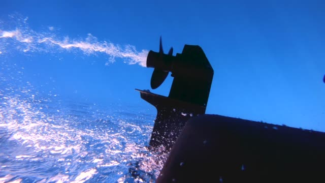 Underwater shot of boat propeller engine spinning. Underwater shot of boat propeller engine spinning. 06_Zanone_GOPRO_02 propeller stock videos & royalty-free footage