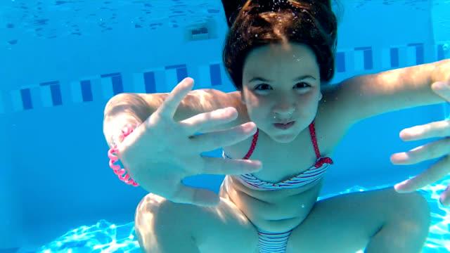 Underwater somersault