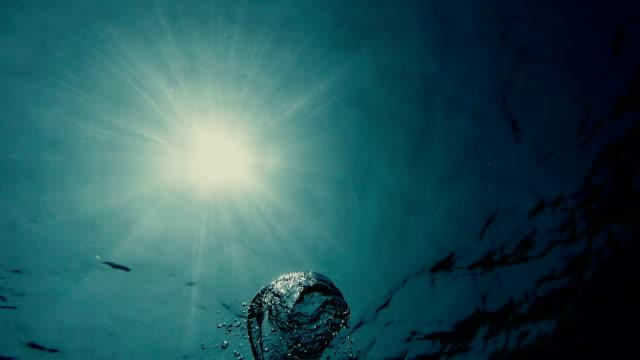 Underwater Sun video
