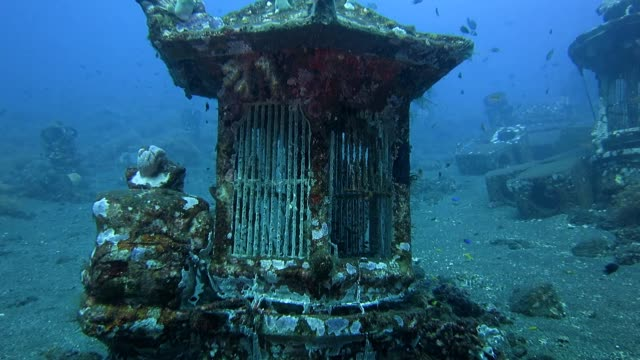 Underwater Temple video