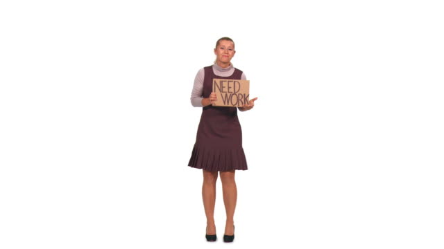 HD: Unemployed Businesswoman