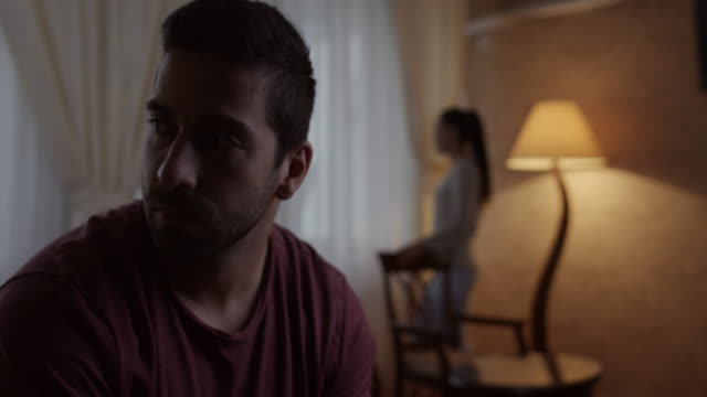 Unhappy couple video