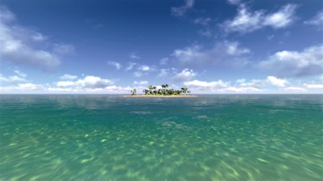 무인도인 제도 - 섬 스톡 비디오 및 b-롤 화면