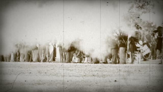 ユニオン焼インライン old timey セピア - 戦い点の映像素材/bロール