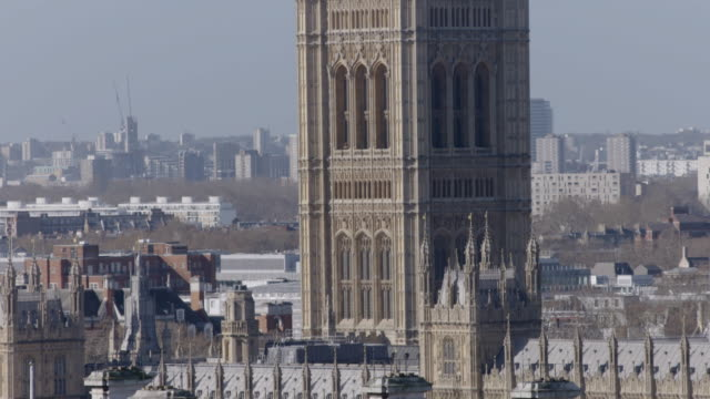 Union Jack flies over Houses of Parliament