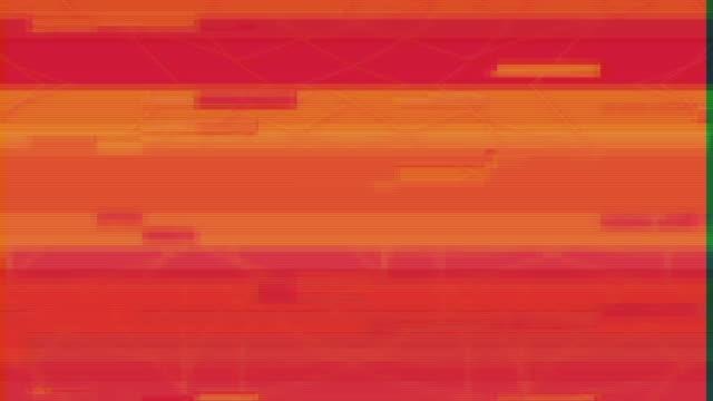 Unique Design Abstract Colorful Noise Glitch Video Damage video