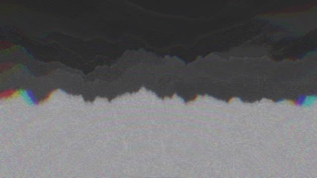 unique design abstract digital animation pixel noise glitch error video damage - texture computer video stock e b–roll