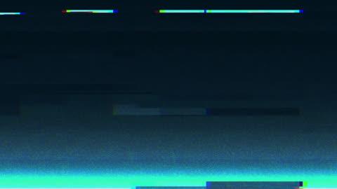 benzersiz tasarım soyut dijital animasyon piksel gürültü glitch hata video hasar - fotoğraf efektleri stok videoları ve detay görüntü çekimi
