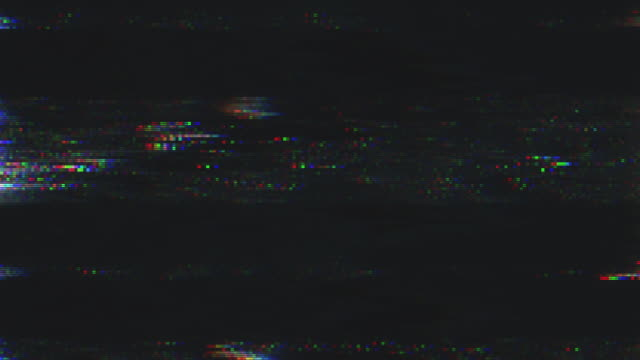 einzigartiges design abstrakte digitale animation pixel rauschen glitch fehler video schaden - technology videos stock-videos und b-roll-filmmaterial