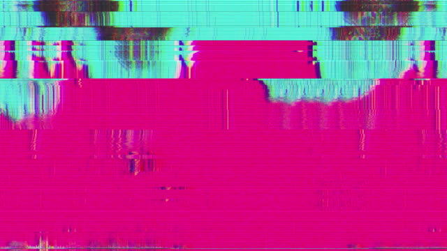 Unique Design Abstract Digital Animation Pixel Noise Glitch Error Video Damage video