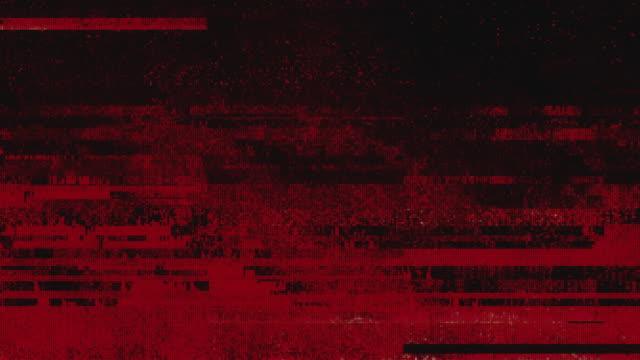 Unique Design Abstract Digital Pixel Noise Glitch Error Video Damage