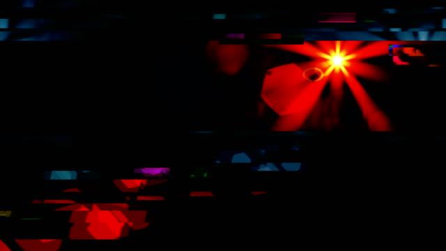 Unique Design Abstract Flare Digital Animation Pixel Noise Glitch Error Video Damage