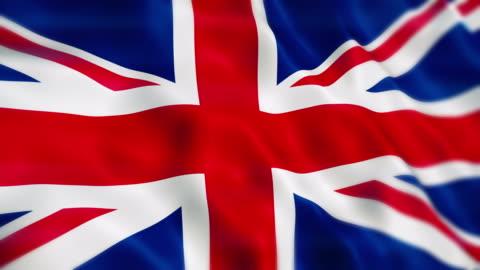 United Kingdom Flag United Kingdom Flag Animation Close-up (Depth Of Field) flag stock videos & royalty-free footage