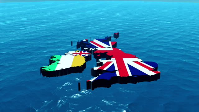 3D HD United Kingdom Map Zoom 3D HD United Kingdom Map Zoom uk map stock videos & royalty-free footage