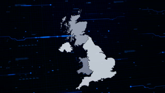 United Kingdom network map video