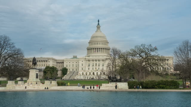 United States Capitol Building in Washington, DC video
