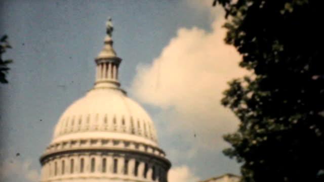 United States Capitol Building Washington DC-1940 Vintage 8mm film video