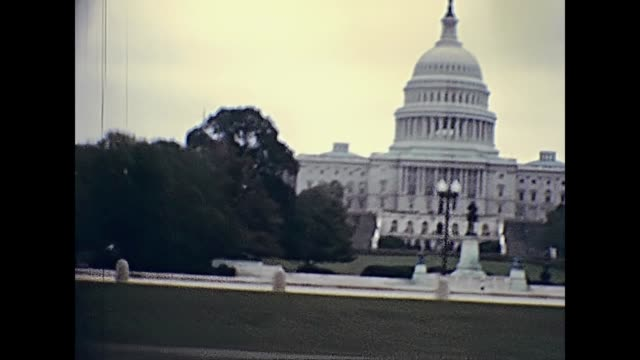 united states capitol - governo video stock e b–roll