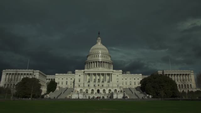 United States Capitol West and Lawn in Washington, DC - 4k/UHD video