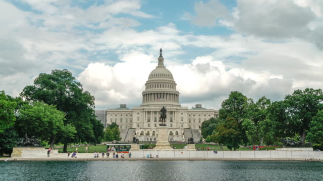 United States Capitol West in Washington, DC - 4k/UHD video