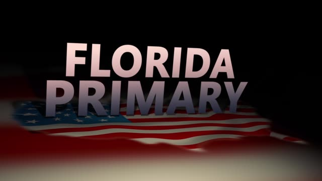 United States Cinematic Election Motion Graphics- Florida primary Version United States Cinematic Election Motion Graphics- Florida primary Version florida us state stock videos & royalty-free footage