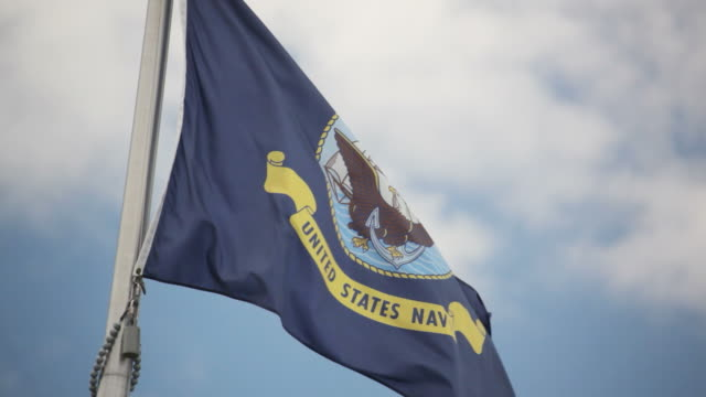 United States Navy Flag video
