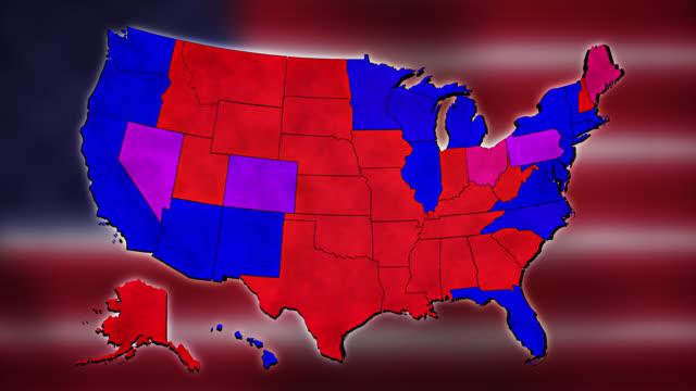 abd başkanlık seçimleri 2020 - election stok videoları ve detay görüntü çekimi