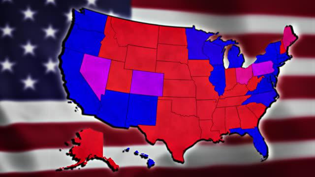 アメリカ大統領選挙2020 - アメリカ文化点の映像素材/bロール