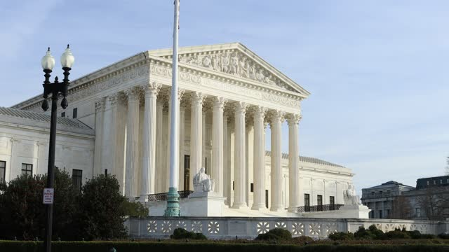 United States Supreme Court Building - Exterior - Washington, D.C - Autumn