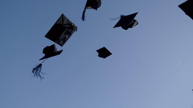 University Graduation Students Celebrating video